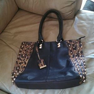 Call it spring leopard handbag